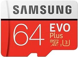 Cartao Samsung Micro Sd Evo Plus 64gb 100 mb/s Lacrado U3 + Adaptador (Lacrado)