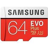Micro SDXC Samsung 64GB Micro SDXC Evo Plus 100MB/s W60MB Class 10 with Adapter, (MB-MC64GA/APC)