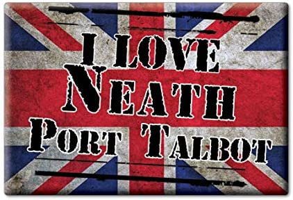 Enjoymagnets Neath Port Talbot Souvenir IMANES DE Nevera Reino ...