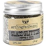 Prima Marketing Art Ingredients Glass Glitter, 2-Ounce, Sterling