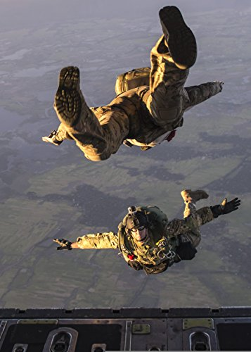Home Comforts U.S. Airmen jump from a C-130 Hercules aircraft over Bangladesh during exercise Cope South 14 Nov. 1 by Home Comforts