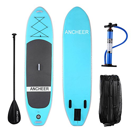 Ancheer Inflatable Stand Up Paddle Board Isup Board With