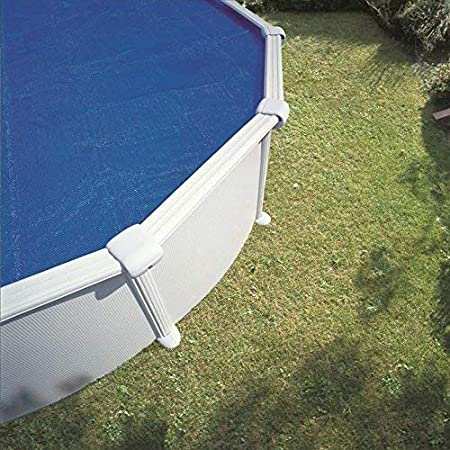 Gre 772997 - Cubierta de Verano Isotérmica para Piscina Redonda de 360 cm de Diámetro, Color Azul: Amazon.es: Jardín