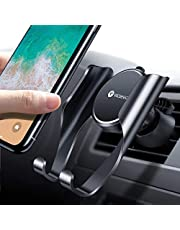 VICSEED Car Phone Holder,Car Phone Mount Universal Car Holder Mobile Phone Holders for Cars Car Vent Holder Compatible with iPhone 11 XR X 8 7 6 Galaxy Note 10 S10+ S10e S9 S8 S7 J6 J5 HTC LG Huawei