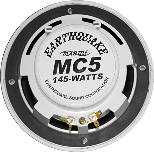 Earthquake Sound Marine MC5 5'' Matched Component Speaker Set by Earthquake Sound (Image #1)