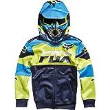 Fox Racing Boys Mako Fleece Hoody Zip Sweatshirt