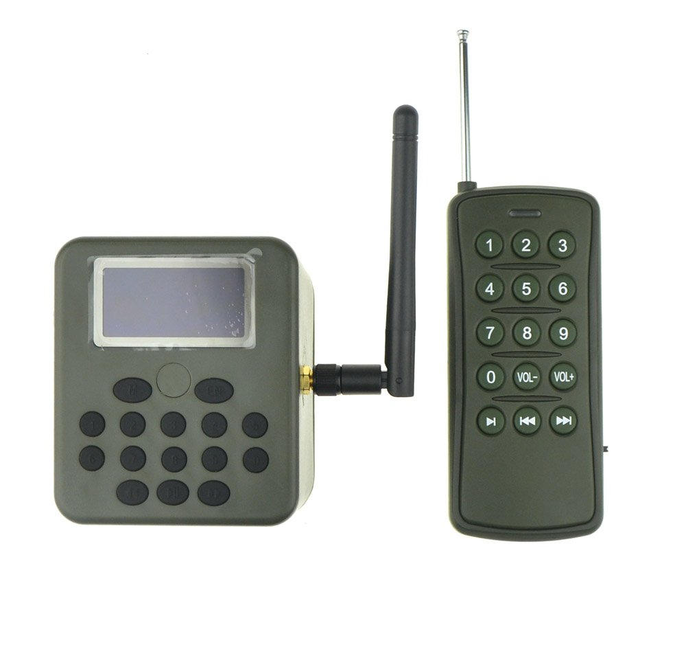 Outdoor Hunting Bird Caller MP3 Player LCD Screen 50W Loud Speaker Timer With Wireless Remote Control