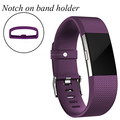GEAK Fitbit Charge 2 Bands 3 Pack, Classic Replacement Bands for Fitbit Charge 2, Large and Small