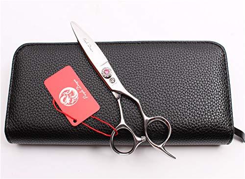 1 piece 6 17cm 440C Purple Dragon Hairstyle Hairdressing Scissors Cutting Shears Thinning Scissors Professional Hair Scissors T-B Z9021
