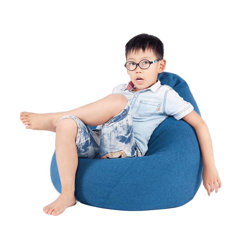 ZL-Sillón puff sofá Perezoso Sofá para niños Sofá para niños Dormitorio Sofá pequeño Lavable Lavable (Color : D)