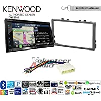 Volunteer Audio Kenwood DNX574S Double Din Radio Install Kit with GPS Navigation Apple CarPlay Android Auto Fits 1998-2002 Honda Accord, 1999-2005 Honda Civic (Excludes Si Models)