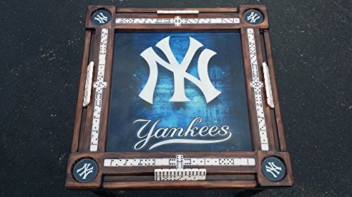 NY Yankees Domino Table by Domino Tables by Art by Domino Tables by Art