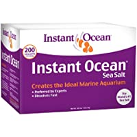 Instant Ocean Sea Salt for Marine Aquariums ( 200-Gallon)