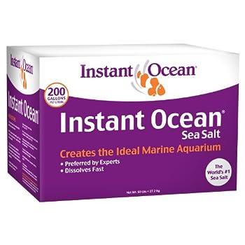 Instant Ocean Sea Salt for Marine Aquariums Nitrate  PhosphateFree