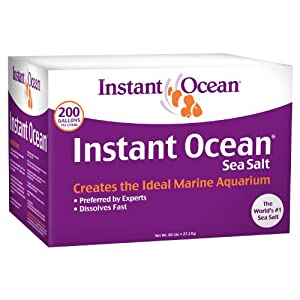 Instant Ocean Sea Salt for Marine Aquariums, Nitrate & Phosphate-Free 81