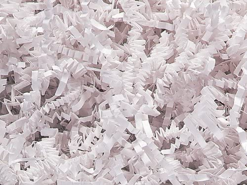 1/2 LB Crinkle Cut Paper Shred - White 51oESnmWJiL