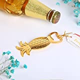 Cheap Wedding Favor Gold Pineapple Bottle Opener Wine Opener (20)