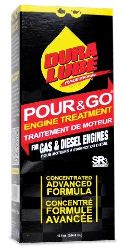 Dura Lube HL-41501-06 Pour & Go Engine Treament, 12-Ounce, Single by Dura Lube