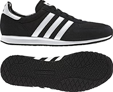 best service aa8d9 056bc adidas Originals Adistar Racer V22769 BlackWhite LeatherMesh Suede Mens  Shoes (Size