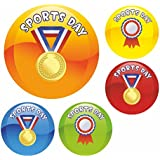 Medal Sports Day Praise Stickers