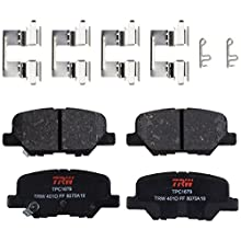 TRW TPC1679 Premium Ceramic Rear Disc Brake Pad Set