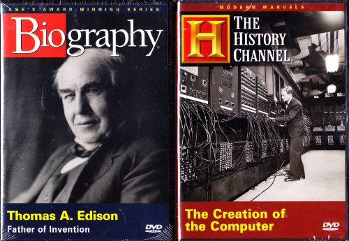 (Biography Thomas Edison , the History Channel : The Creation of the Computer : Inventions That Changed the World 2 Pack)