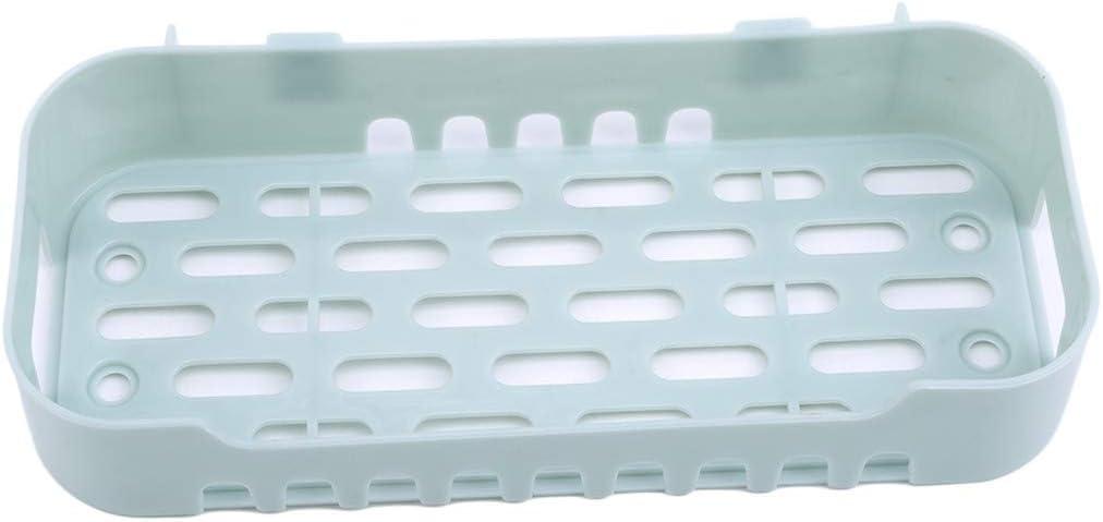 Blau INSEET Papierhandtuchhalter Mit Regal K/üchenrollenspender Gew/ürzregal Wand Bad Organizer Ablageboden