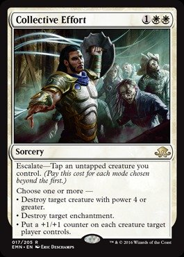 Magic: the Gathering - Collective Effort (017/205) - Eldritch Moon - Foil