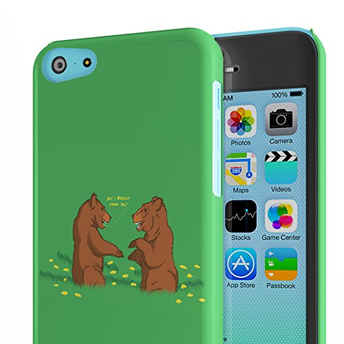 Koveru Back Cover Case for Apple iPhone 5C - But I bearly know you