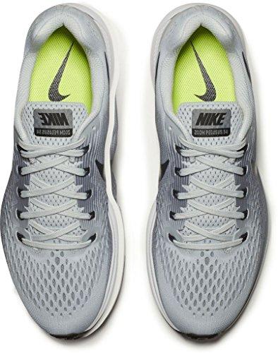 Nike Air Zoom Pegasus 34 - Zapatillas de Entrenamiento Hombre Pure Platinum/Anthracite-cool Grey-black