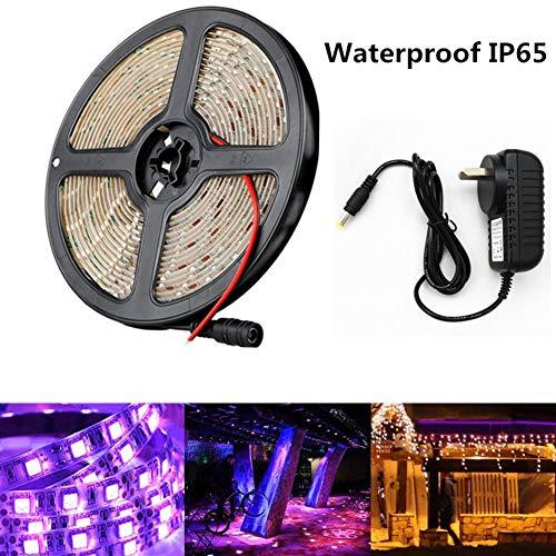 - Aoile UV LED Black Light Strip, 5M SMD3528 300LEDs 390-400 nm Light Strip Epoxy Waterproof
