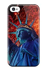 Iphone 4/4s Case Slim [ultra Fit] America The Beautiful Protective Case Cover
