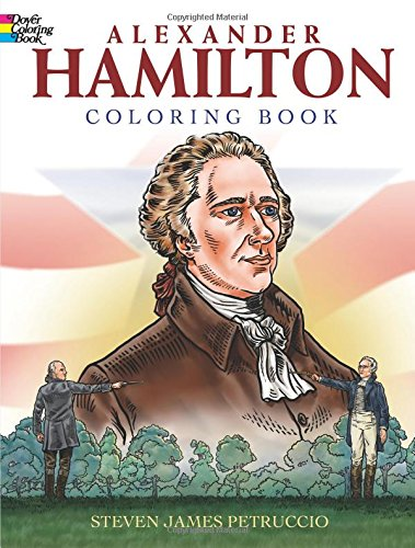 Alexander Hamilton Coloring Dover History product image