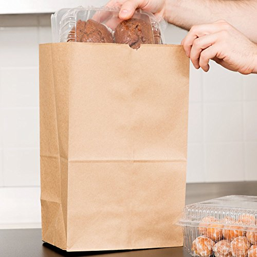 Duro Bulwark Extra Heavy-Duty 20 lb. Shorty Brown Paper Bag 500 / Bundle by Duro