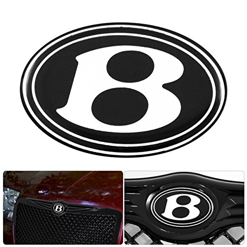 Bentley Grill Chrysler 300 - For Chrysler 300 300C Front Grille Grill B Logo Emblem Gel Sticker Replacement