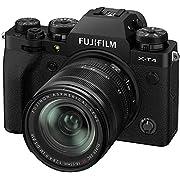 Fujfilm X-T4 Mirrorless Digital Camera XF18-55mm Lens Kit – Black