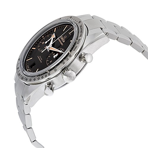 Omega Speedmaster 57 Chronograph Automatic Black Dial Stainless Steel Mens Watch 33110425101002