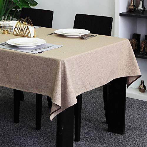 家の装飾布カバー ホームテーブルクロス長方形現代中国の家のダイニングテーブルクロスアートシンプルな幾何学的な風のテーブル テーブルクロス (サイズ : (135*135cm)) (135*135cm)  B07RWC6WZT