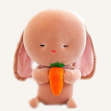 Amazon.com: Bonita muñeca de felpa de conejo, conejitos ...