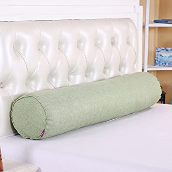 HOMEE Oreiller long de coton de coton oreiller lombaire de grand