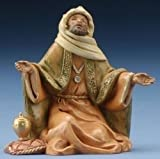 Fontanini 5'' King Balthazar Christmas Nativity Figurine #72189