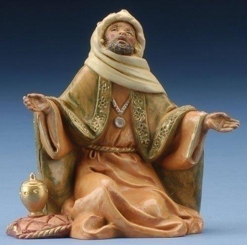 Fontanini 5'' King Balthazar Christmas Nativity Figurine #72189 by Fontanini