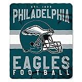 The Northwest Company Officially Licensed NFL Philadelphia Eagles Singular Printed Fleece Throw Blanket, 50″ x 60″, Multi Color