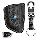 Buffway Keychain Key Chain Case Cover Holder Shell for BMW Key Fob