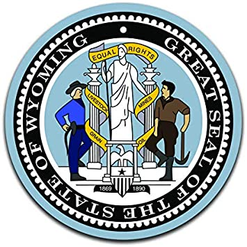 Indiana State Seal Decals Stickers