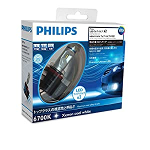 Philips Xtreme Ultinon LED Headlight Foglight Car Bulbs H8 / H11 / H16 (Twin) 12794UNIX2