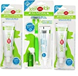 KissAble 3-Item Bundle; Toothbrush and Toothpaste Combo Kit for Dogs Plus 2 Additional KissAble Toothpaste Tubes for Dogs
