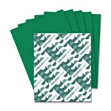Wholesale CASE of 15 - Wausau Astrobrights Colored Paper-Astrobright Paper, 24Lb, 8-1/2''x11'', 500/PK, Gamma Green