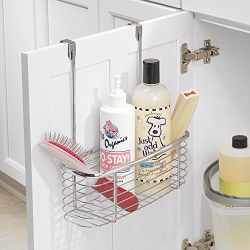 Baskets Above Kitchen Cabinets: Storage Baskets Hang Over Cabinet Door Bathroom Kitchen