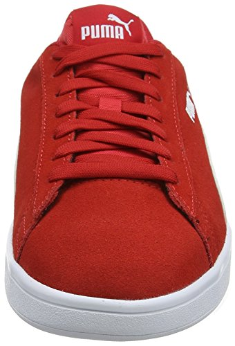 Basses Rouge Mixte Red Smash ribbon White Adulte Puma Baskets V2 puma qUtxT4